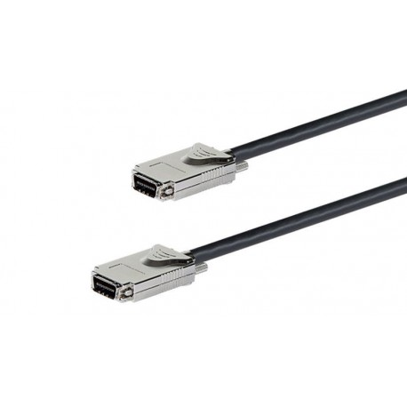 Cable externo SAS Infiniband M SFF-8470 - Infiniband M SFF-8470 1 m