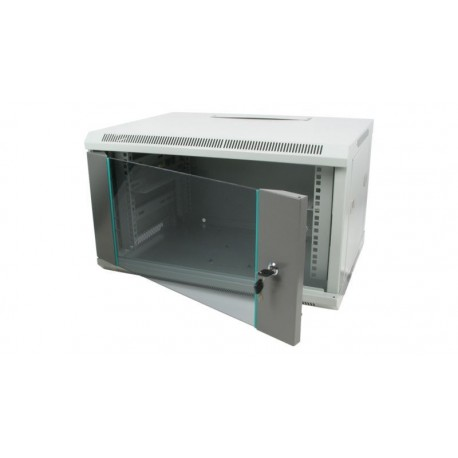 "Armario 19"" puerta de vidrio 600 x 440 mm, beige"