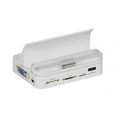 Docking Station multifuncional compatible con iPhone, iPad y iPad 2