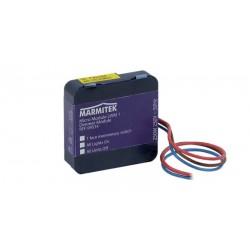 Micro módulo X-10 con regulador encendido/apagado/atenuación 2 vías