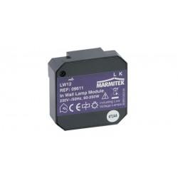 Micro módulo X-10 con regulador encendido/apagado/atenuación 1 vía