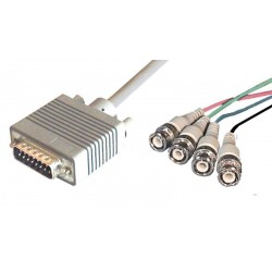 Cable Apple de monitor DB15-4xBNC