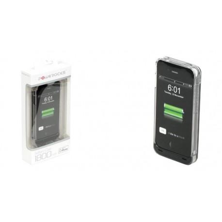 Funda con batería Powerocks para iPhone 4/4S 1800mAh