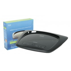 Router Wireless Linksys WAG120N ADSL2+802.11 b/g/n 150 Mbps