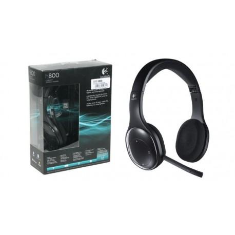Auriculares WIFI/Bluetooth Logitech Wireless Headset H800