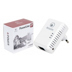Adaptador powerline Atlantis 500Mbps homeplug AV blanco