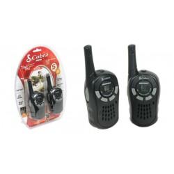 Walkie talkies Cobra radio PMR 5KM 8 canales negro