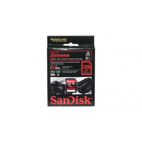 Tarjeta de memoria SanDisk Extreme SDXC UHS-1 Clase 10 hasta 45 Mb/s