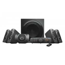 Altavoces 5.1 Logitech Z906 Digitales 500W RMS Certificado THX, DTS, Dolby Digital