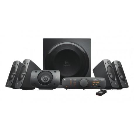 Altavoces 5.1 Logitech Z906 Digitales 500W RMS Certificado THX, DTS, Dolby Digital