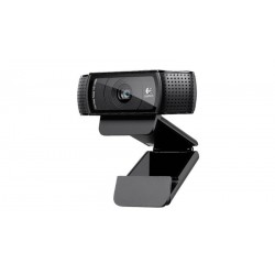 Logitech Webcam C920 HD 1080p 15MP enfoque automático micrófono stereo USB