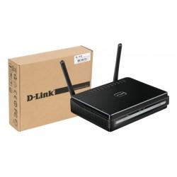 Punto de acesso Wireless N D-Link 300Mbps con ethernet Gigabit
