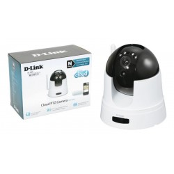 "Cámara IP Wireless D-Link HD 720p CMOS 1.4"" H.264 con IR"