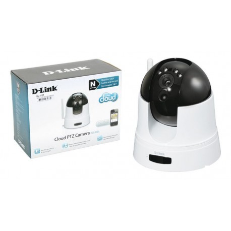 "Cámara IP Wireless D-Link HD 720p CMOS 1.4"" H.264 con IR"