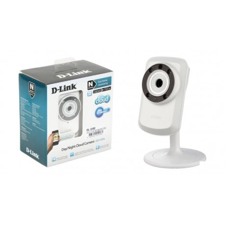 """Cámara IP Wireless N D-Link CMOS 1/5"""" con Infrarrojos"""