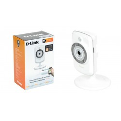 Cámara IP Inalámbrica interior D-Link 802.11b/g/n H.264 tarjetas Micro SD 16 GB