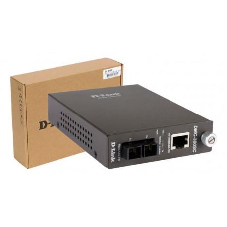 Transceptor de fibra D-Link 10/100Base-TX SC MM Full Duplex 2KM