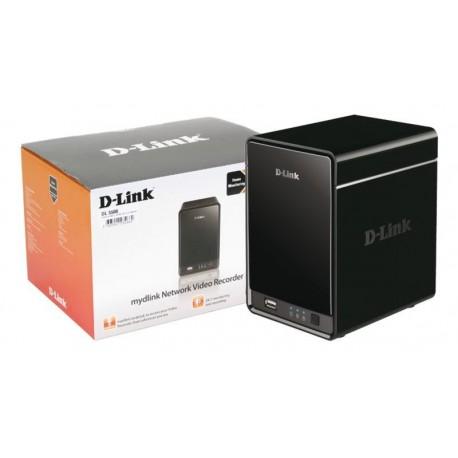 """Grabador de vídeo D-link 2x 3.5"""" SATA RAID hasta 9 cámaras"""