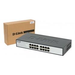 Switch 16/24 puertos D-Link EasySmart 10/100 Mbps con gestión