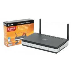 Kit Router Wireless D-Link DKT-400 802.11b/g/n 300 Mbps con adaptador wireless USB