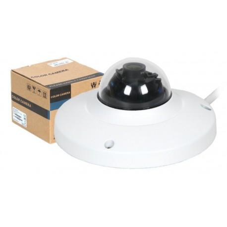"""Cámara IP domo QVIS 1/3"""" 2MP 1080P H264 3.6mm DC12V con POE"""