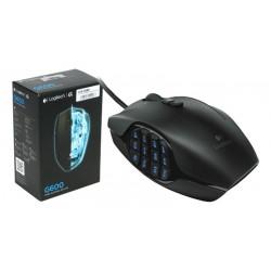 Ratón Logitech G600 para MMO USB 8200Dpi