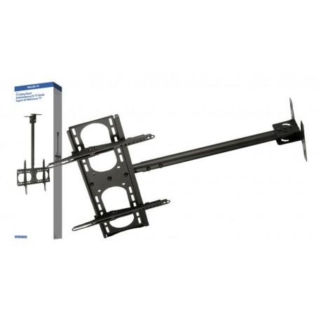 "Soporte techo brazo extensible para LCD 42–65"" 107–165cm 45Kg negro"