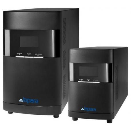 SAI Lapara 1000VA/1000W v1.0, on-line, doble conversión, LCD