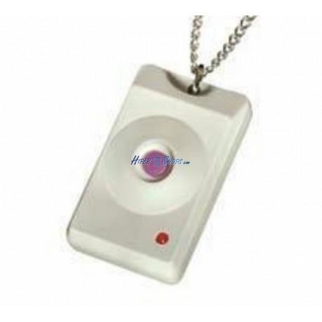 Visonic MCT-201 WP - Pulsador colgante/llavero miniatura estanco, 1 botón