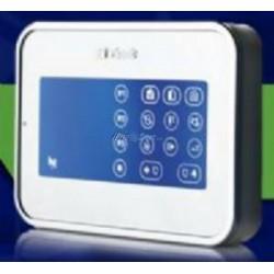 Visonic KP-160 - teclado con pantalla táctil bidireccional y lector de proximidad