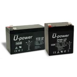 Batería para SAI de 12V y 100Ah U-power
