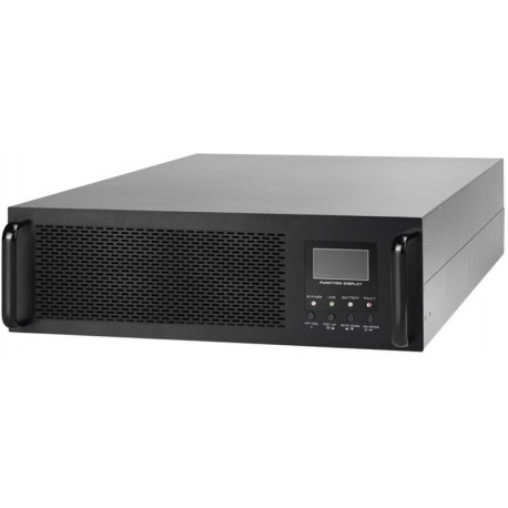 SAI Lapara 6000VA/4800W, on-line, doble conversión, rack 6U, USB/RS232, RJ45, LCD