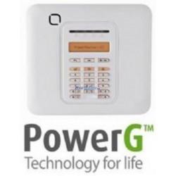 Visonic PowerMaster-10 - Central de alarma inalámbrica alta seguridad PowerG, 30 zonas, 1 entrada cableada