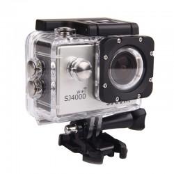 SJCAM SJ4000 WIFI SILVER - Cámara de vídeo deportivo Full HD 1080P WIFI sumergible