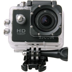 SJCAM SJ4000 SILVER - Cámara de vídeo deportivo Full HD 1080P sumergible