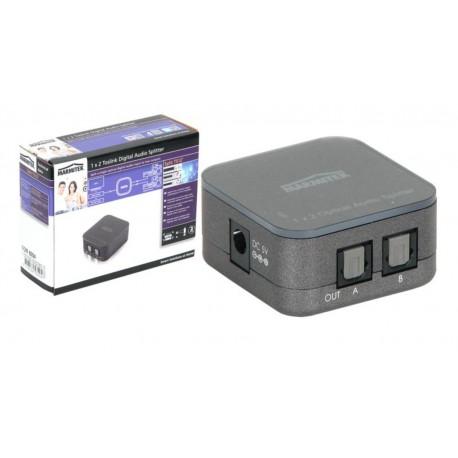 Divisor de audio digital Toslink 1 entrada para 2/4 salidas - 2