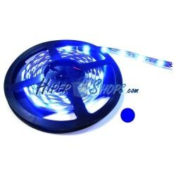 Tira de LEDs flexible 13 lm/led 30 led/m de 5m IP44 azul