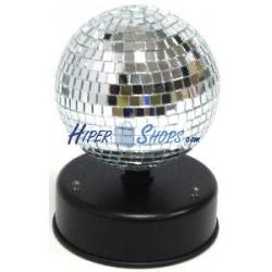 Bola de discoteca giratoria con LED por USB