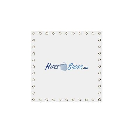 Tela de proyección de 600x600cm 1:1 PVC blanco para eventos y presentaciones
