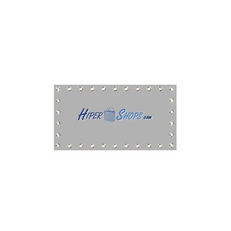 Tela de proyección de 900x506cm 16:9 PVC gris para eventos y presentaciones