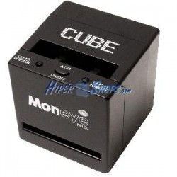 Detector de billetes falsos con totalizador monEYE M100-LCD