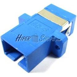 Acoplador de fibra óptica SC a SC monomodo simplex