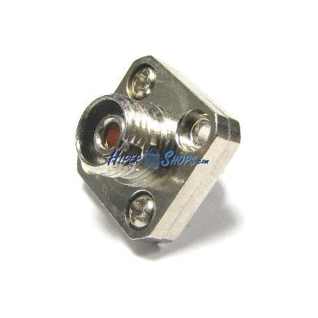 Acoplador de fibra óptica FC a FC monomodo simplex cuadrado