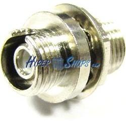 Acoplador de fibra óptica FC a FC multimodo simplex
