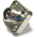 Acoplador de fibra óptica FC a FC multimodo simplex cuadrado