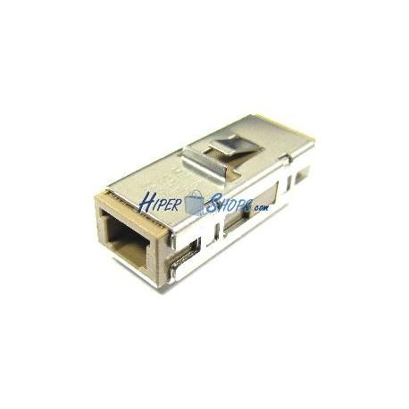 Acoplador de fibra Óptica MU a MU multimodo simplex