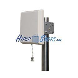 Antena de panel de 2,4 GHz y 14 dBi