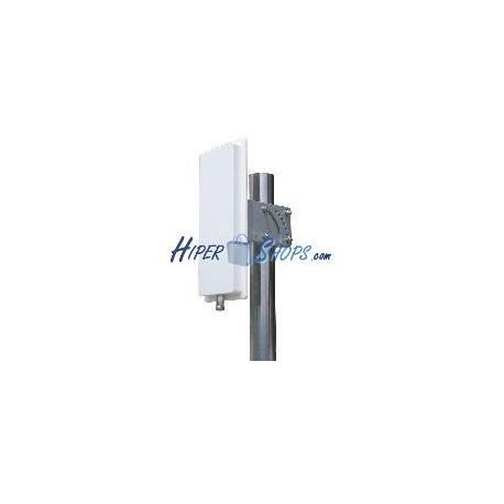 Antena sectorial 65 grados de 2,4 GHz y 14 dBi