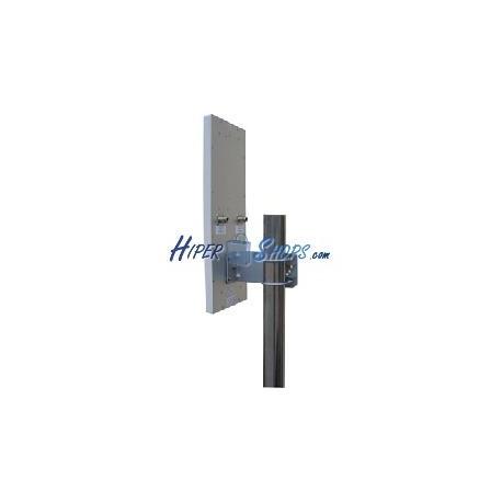 Antena de panel de 2,4 GHz y 16 dBi de polarización dual