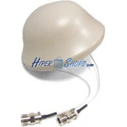 Antena de techo de 2400 a 5850 MHz de 3 dBi